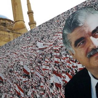 Rafik Hariris 10.Todestag.