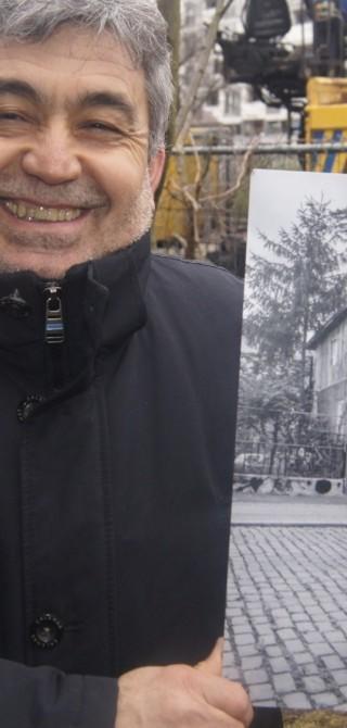 Mehmet Kalin, Erbauer des Baumhaus an der Mauer
